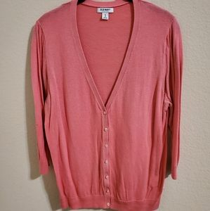 Old Navy womens pink cardigan Button front Size XL
